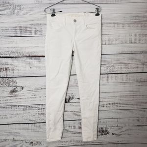 American Eagle Skinny White Jeans Size 4